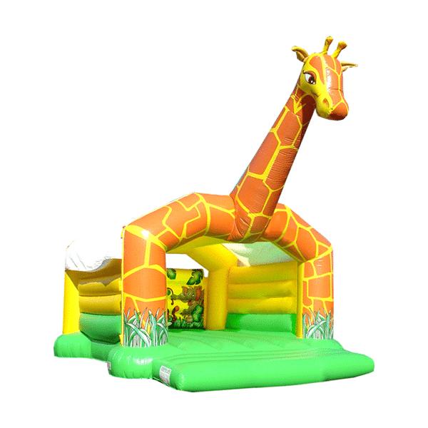 Hüpfburgen mieten Giraffe