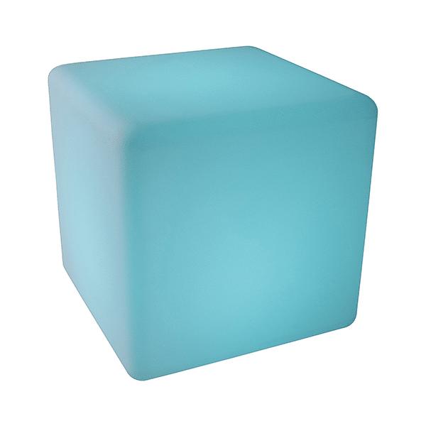 Sitzwüfel Kunststoff mieten leuchtend