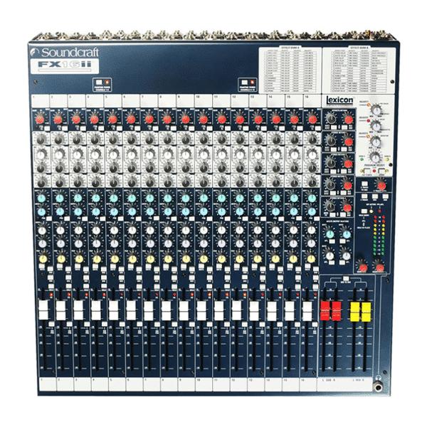 Soundcraft Mischpult FX16