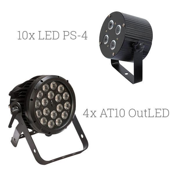 LED Strahler mieten