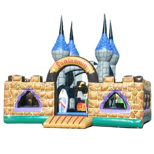 Hüpfburg Fantasy-Schloss mieten