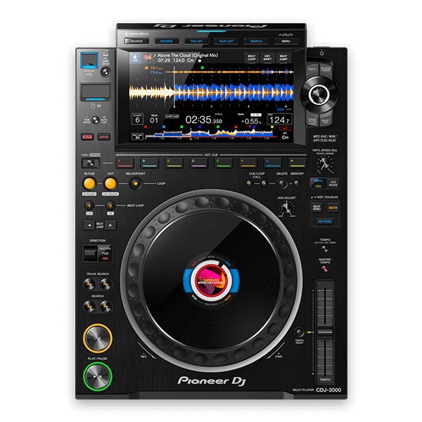 DJ Pult, Mischpult, Tontechnik
